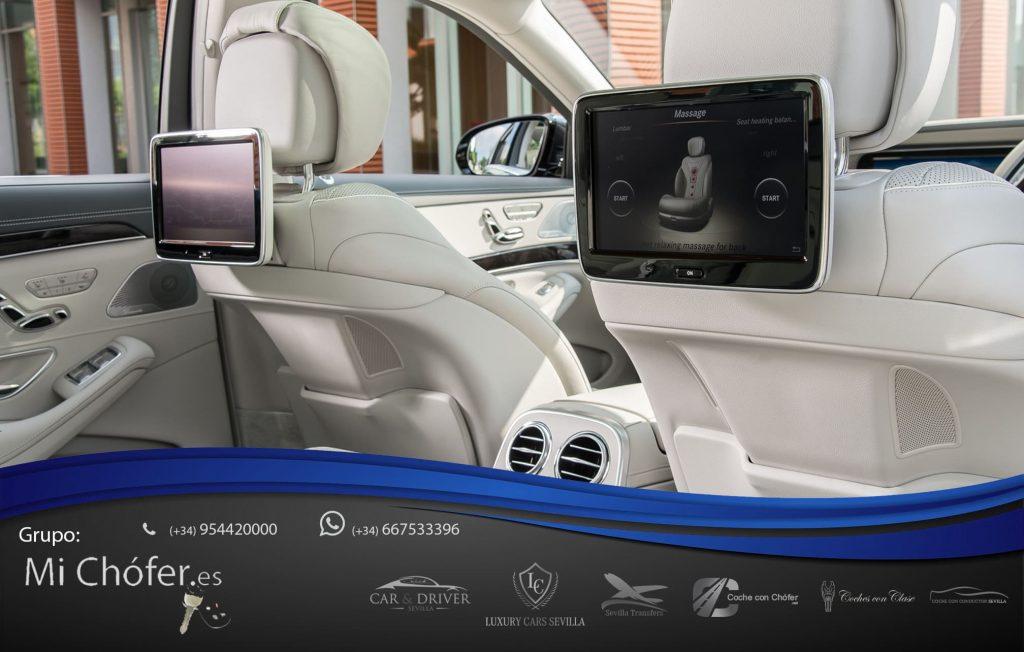 Máximo equipamiento en nuestro Mercedes Clase S largo
